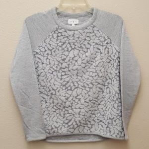 Lou & Grey Snow Leopard Sweater